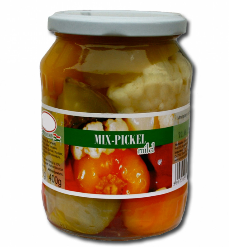 ungarische Mix-Pickel