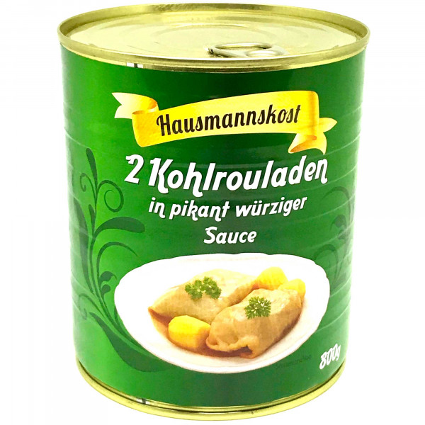 Kohlrouladen in Pikant würziger Sauce