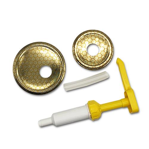 Honigpumpenset passend für 400g/900g Glas,Mézpumpa szett