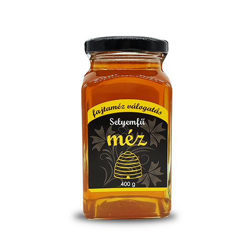 Seidengrashonig im Glas 400g,Fajtaméz válogatás Selyemfű méz