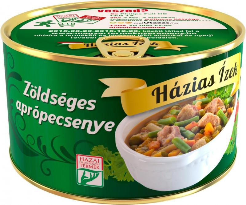 Mischgemüse mit Schweinefleisch,Zöldséges aprópecsenye 400g