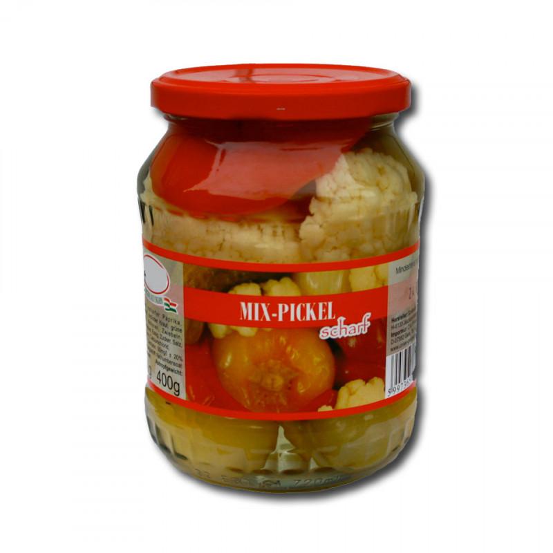 ungarische Mix-Pickel im Glas