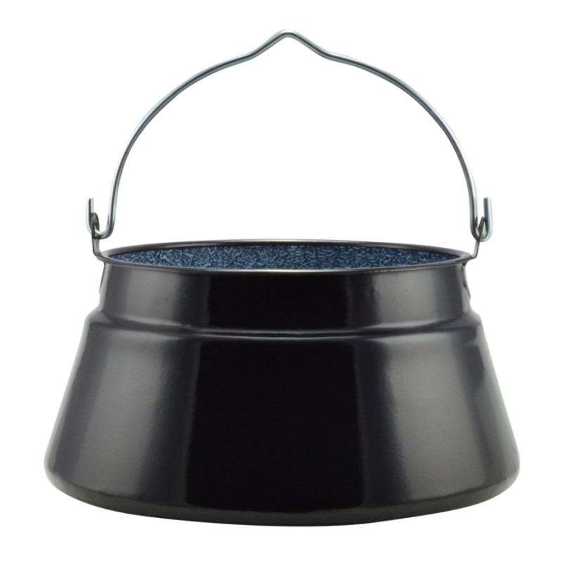 Fischsuppekessel emailliert 20 Liter, Bajai Zománcozott halfőző bogrács