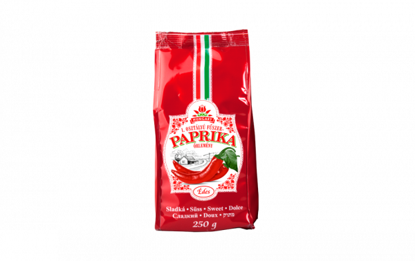 Gemahlener Gewürzpaprika aus Kalocsa im Papierbeutel mild 250g