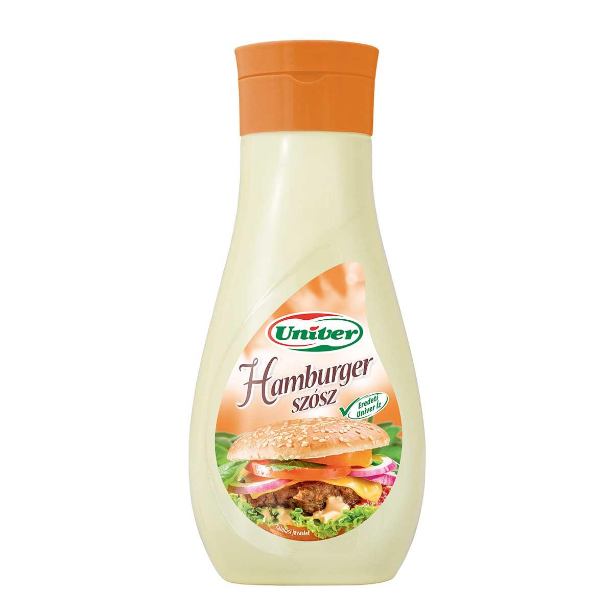 Hamburger sauce 420g von univer for Ungarische feinkost