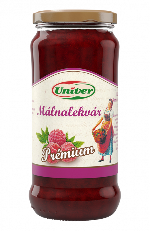 Kecskeméti Málnalekvár - Himbeermarmelade - original ungarisches Erzeugnis